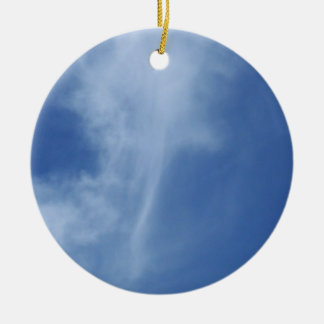 Clouds: Sword of Truth in Sky Round Ceramic Decoration