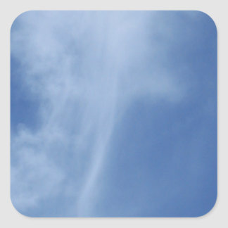 Clouds: Sword of Truth in Sky Square Sticker