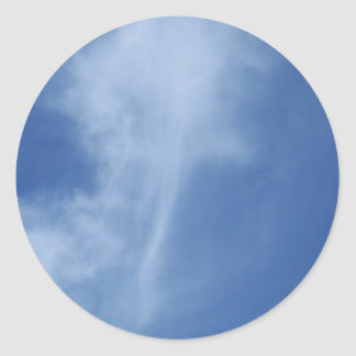 Clouds: Sword of Truth in Sky Stickers