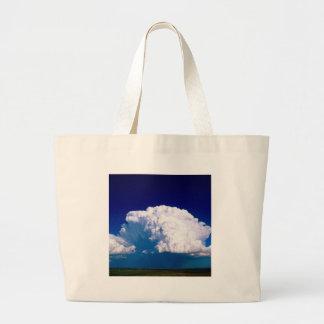Clouds Thunderhead Sidney Nebraska Tote Bags