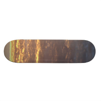 Clouds to gold skate boards