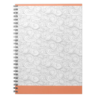 Clouds wave notebook