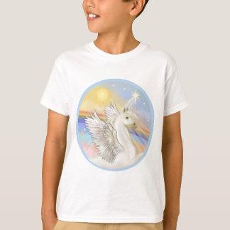 Clouds - White Arabian Horse T-Shirt