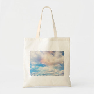 Clouds Wings of Gold and Silver 2 Canvas Bag