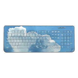 Clouds Wireless Keyboard