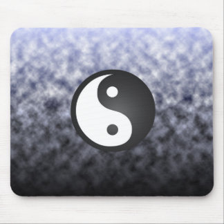 Clouds & Ying Yang Mouse Pad