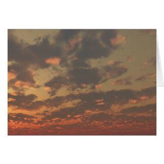 cloudscape 13 greeting card