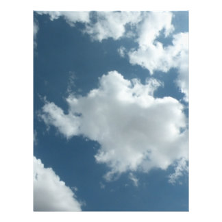 Cloudy 21.5 Cm X 28 Cm Flyer