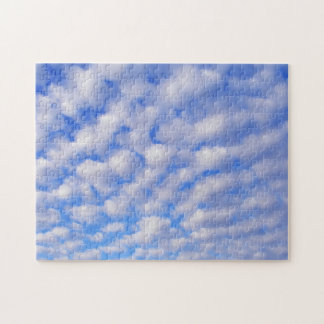 Cloudy Blue Sky Puzzle