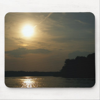 Cloudy but Sunny Day Mouse Pad