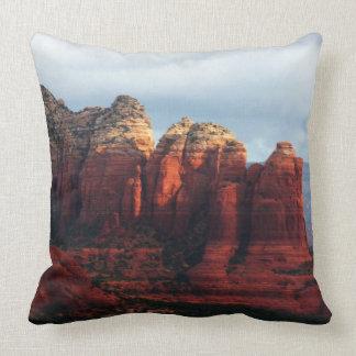 Cloudy Coffee Pot Rock in Sedona Arizona Cushion