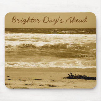 Cloudy Day's-Hermosa Beach Ca_ Mouse Pad