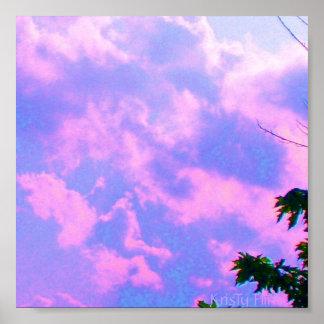 Cloudy Heart by- KrisTy Flint Poster