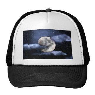 Cloudy Moon Mesh Hats