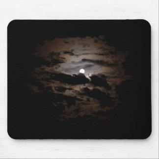 Cloudy Moon Mousepad