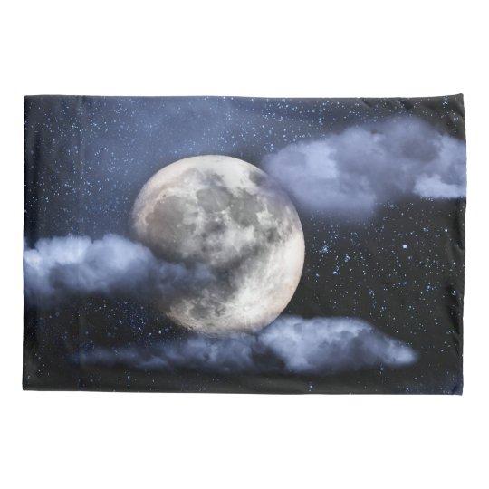 Cloudy Moon Pillowcase
