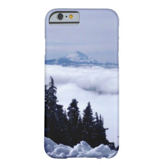 Cloudy Mountain Barely There iPhone 6 Case