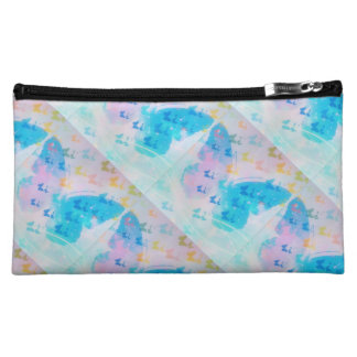 Cloudy on the side makeup bag