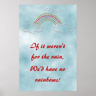 Cloudy Rainbow Print