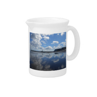 Cloudy Reflection Pitcher