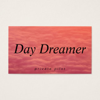 Cloudy Skies | Day Dreamer Business Card