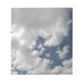 Cloudy Skies Notepad