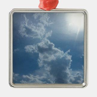 Cloudy Sky 1.0 Christmas Ornament