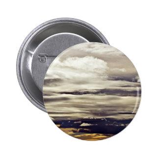 Cloudy Sky 6 Cm Round Badge