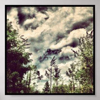 Cloudy Sky 6x6 Print