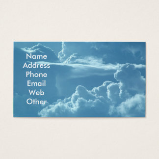 Cloudy Sky Business Cards