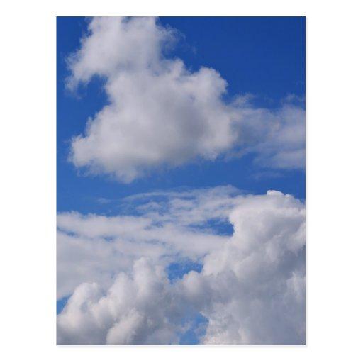 Cloudy Sky .jpg Post Cards