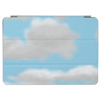 Cloudy Sky Pixel Art Cover iPad Air Cover