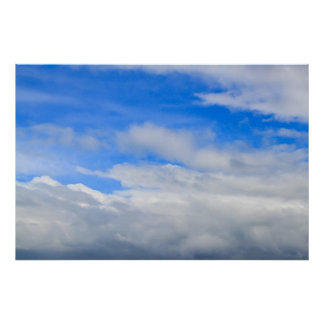 Cloudy Sky Poster/Print Poster