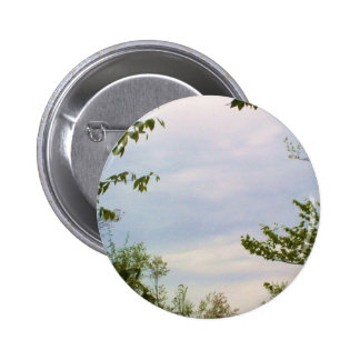 Cloudy Sky Round Buttons
