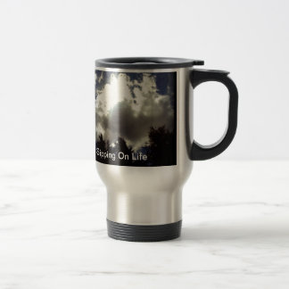 Cloudy/Sunny Day Stainless Steel Travel Mug