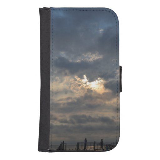 Cloudy Sunrise Phone Wallet
