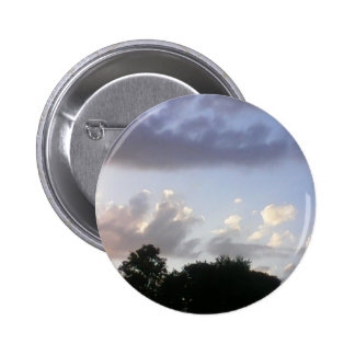 Cloudy Sunset 6 Cm Round Badge