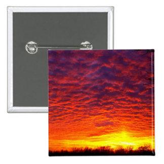 Cloudy Sunset Button