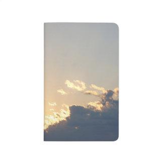 Cloudy Sunset Journal