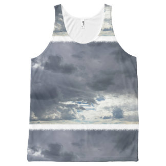 Cloudy Tank Top All-Over Print Tank Top
