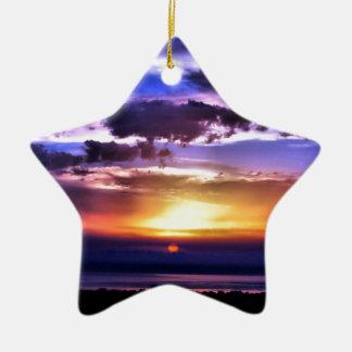 Clours Sunrise Christmas Ornament