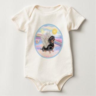Clous - Dachshund Angel (black/tan) Creeper