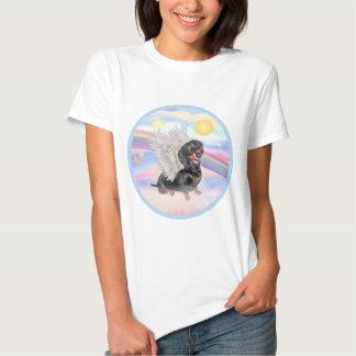 Clous - Dachshund Angel (black/tan) Shirts