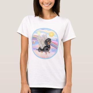 Clous - Dachshund Angel (black/tan) T-Shirt