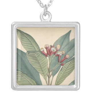 Clove Silver Plated Necklace