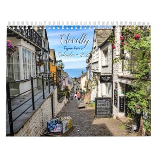 Clovelly Calendar - 2021