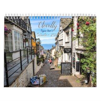 Clovelly Calendar - 2022