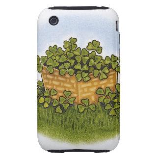 Clover Basket iPhone 3 Tough Case