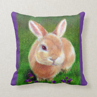 Clover Bunny Cushion