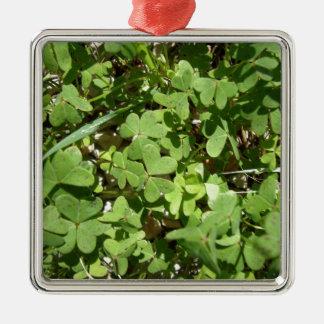 Clover Christmas Ornament
